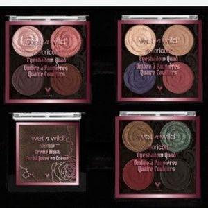 Rebel Rose Eyeshadow Quads and Cream Blush